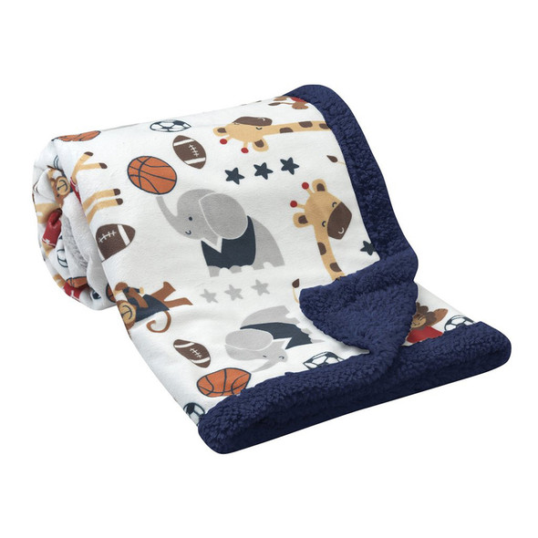 Lambs & Ivy Future All Star Blankets
