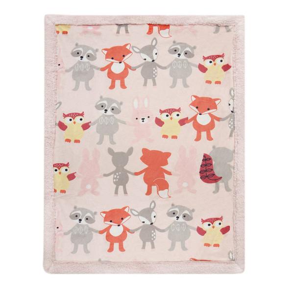 Lambs & Ivy Little Woodland Blankets
