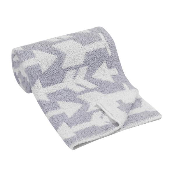 Lambs & Ivy Designer Blankets Chenille Blanket - Arrows