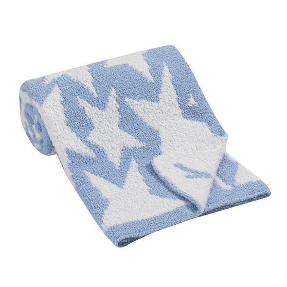 Lambs & Ivy Designer Blankets Chenille Blanket - Stars