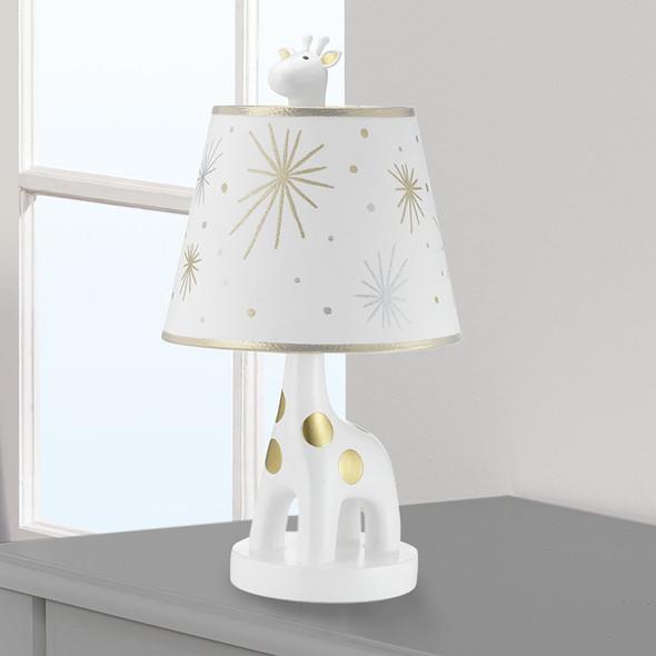 Lambs & Ivy Jamboree Lamp w/Shade & Bulb