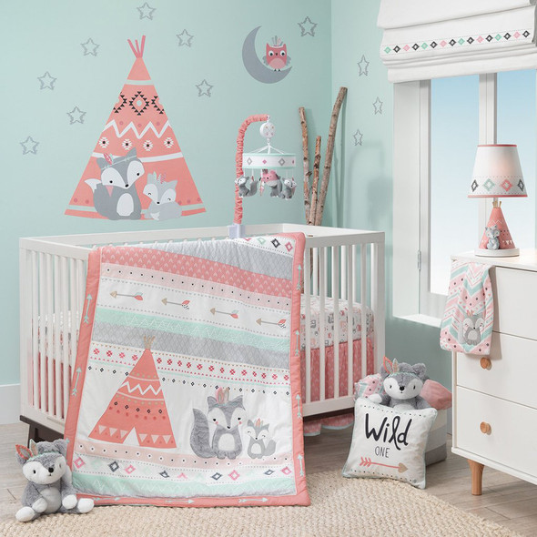 Lambs & Ivy Little Spirit 3-Piece Bedding Set
