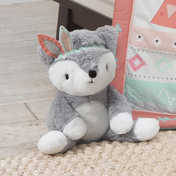 Lambs & Ivy Little Spirit Plush Fox - Cheyenne