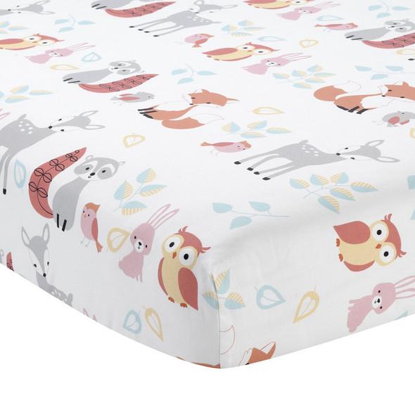 Lambs & Ivy Little Woodland Sheet