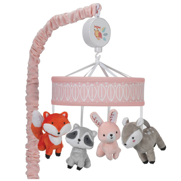 Lambs & Ivy Little Woodland Musical Mobile - Plays 20 minutes
