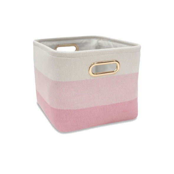 Lambs & Ivy Little Woodland Pink Ombre - Storage