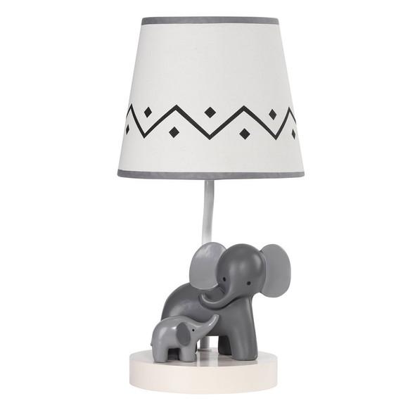 Lambs & Ivy Me & Mama Lamp w/Shade & Bulb