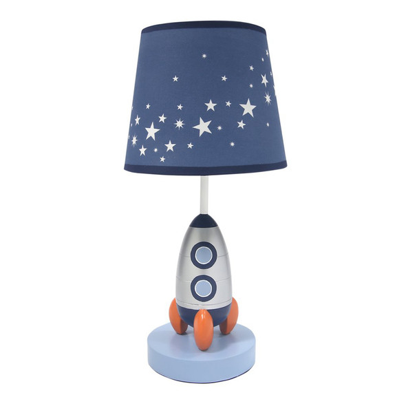 Lambs & Ivy Milky Way Lamp w/Shade & Bulb