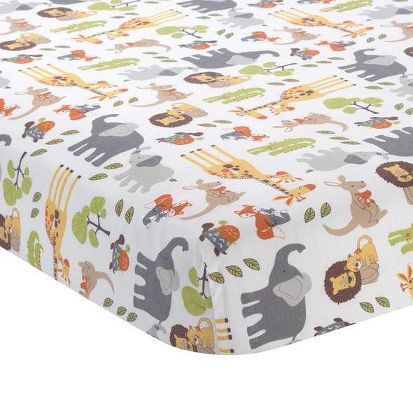 Lambs & Ivy Two of a Kind Sheet