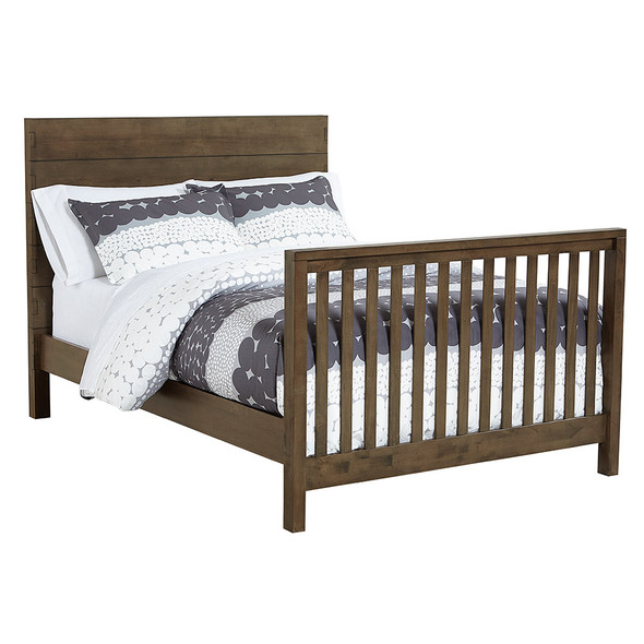 Westwood Dovetail Full Size Bed rails in Graphite