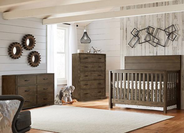 Westwood Dovetail 3 Piece Nursery Set in Graphite