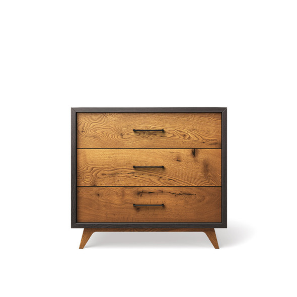 Romina Uptown Single Dresser in Oil Grey