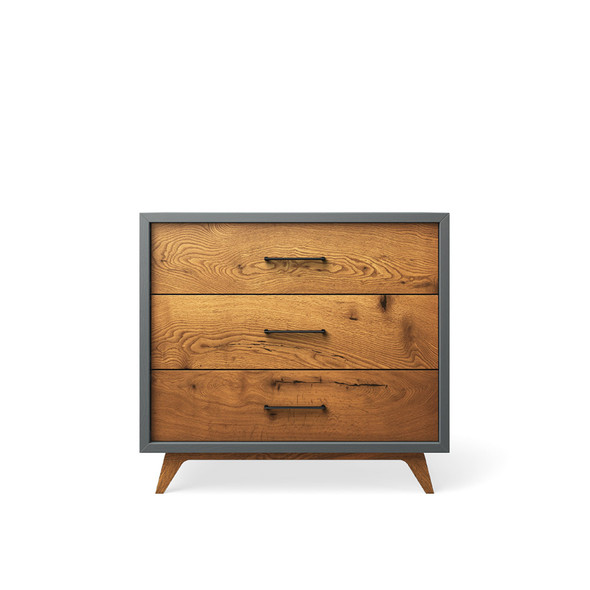 Romina Uptown Single Dresser in Washed Grey