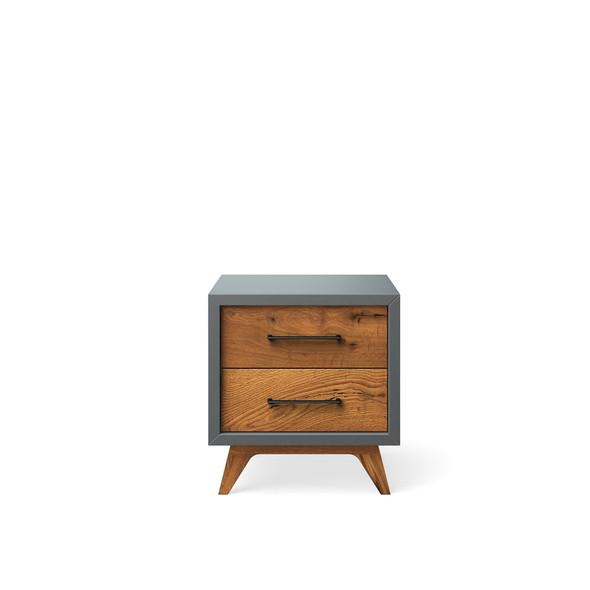 Romina Uptown Nightstand in Washed Grey