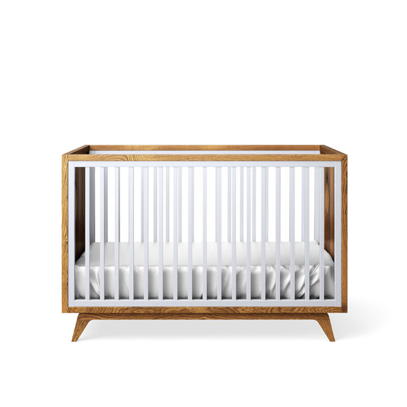 Romina Uptown Classic Crib in Dove
