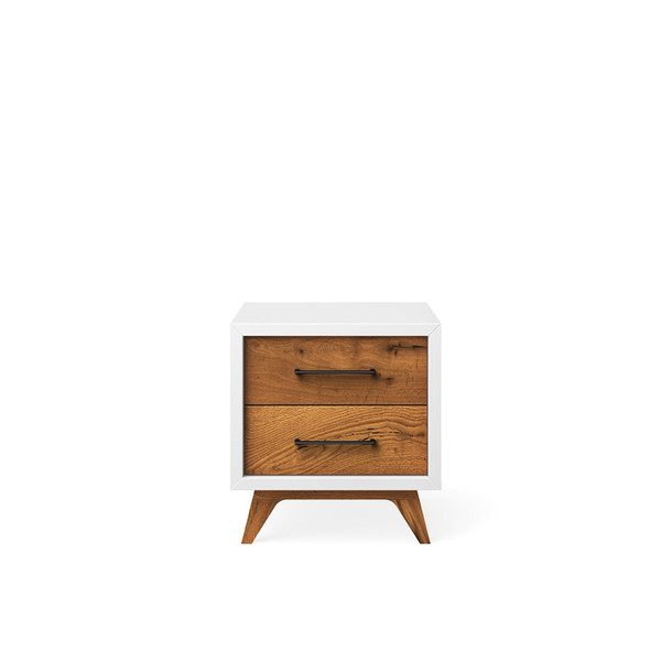 Romina Uptown Nightstand in Solid White