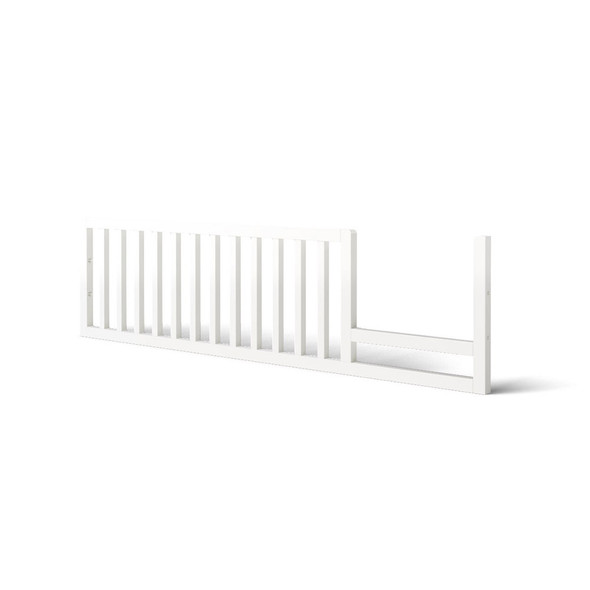 Romina Uptown Toddler Rail in Solid White