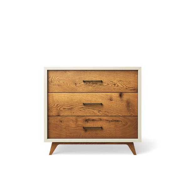 Romina Uptown Single Dresser in Bianco Satinato