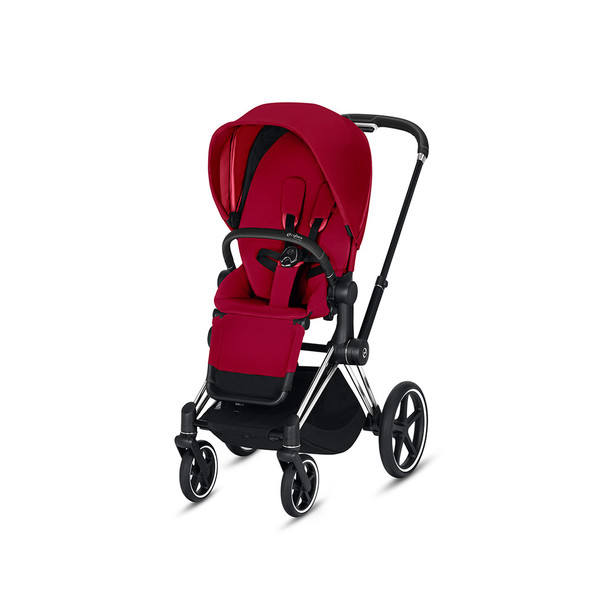 Cybex Priam 3 in Chrome/Black & True Red
