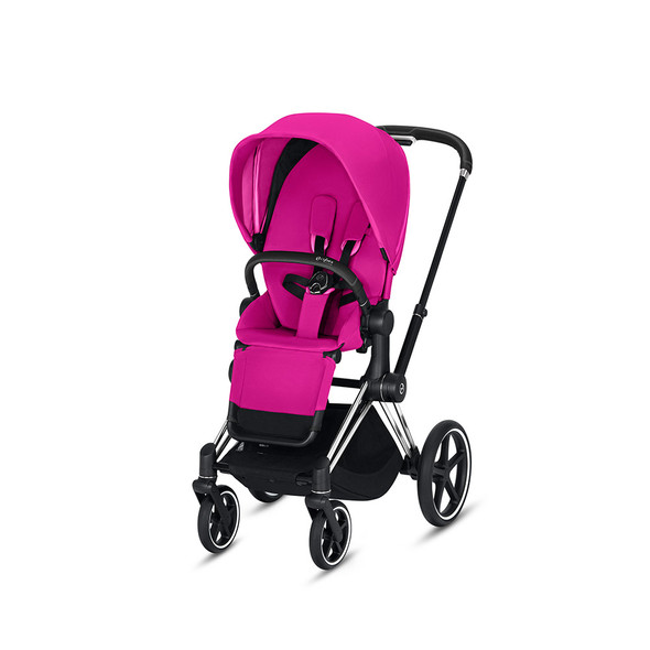 Cybex Priam 3 in Chrome/Black & Fancy Pink