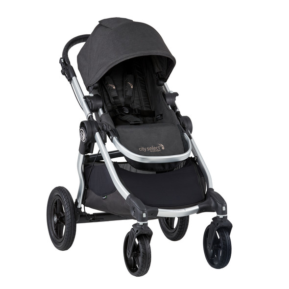 Baby Jogger City Select Fashion Update in Jet