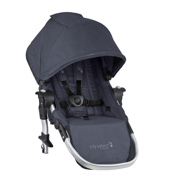 Baby Jogger City Select Second Seat Kit Fashion Update in Carbon