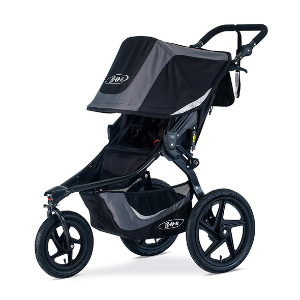 Bob Revolution Flex 3.0 Jogging Stroller in Graphite Black