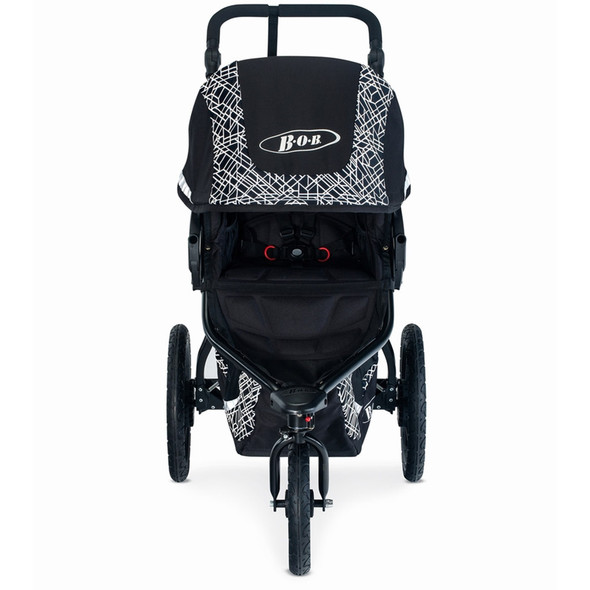 Bob Revolution Flex 3.0 Stroller Bundle in Lunar Black