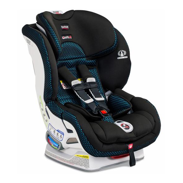 Britax Boulevard ClickTight Cool Flow Convertible Car Seat in Teal