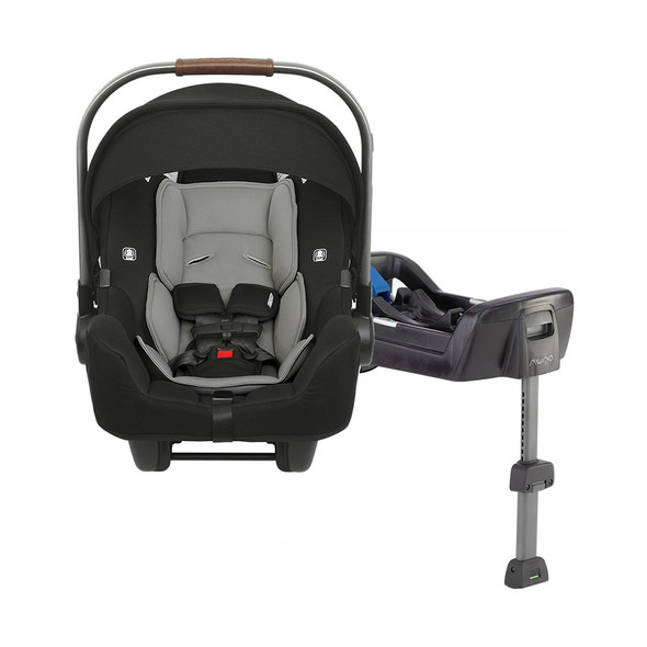 Nuna PIPA + PIPA Series Base Car Seat in Caviar