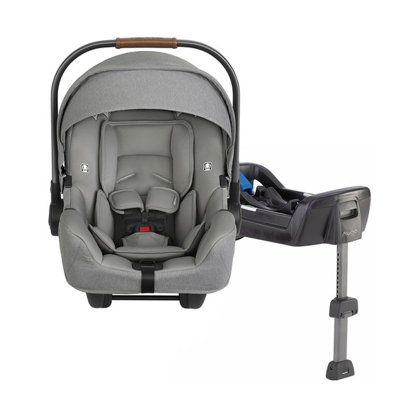 Nuna PIPA + PIPA Series Base Car Seat in Frost