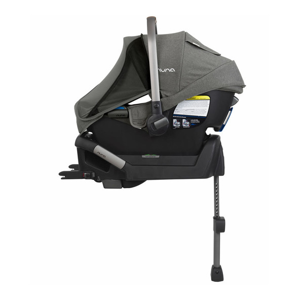 Nuna PIPA + PIPA Series Base Car Seat in Granite