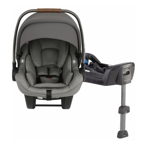 Nuna PIPA Lite with Base Car Seat in Granite