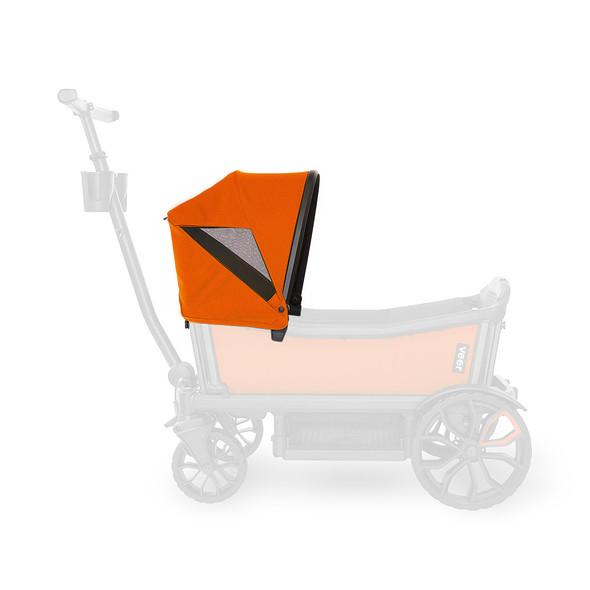 Veer Custom Retractable Canopy in Sienna Orange
