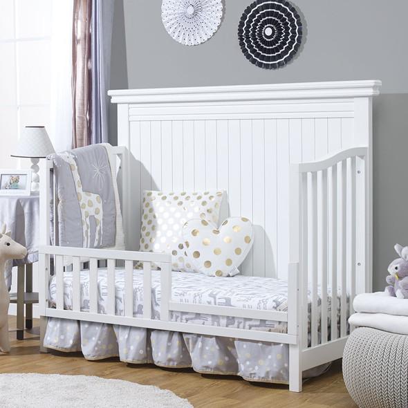 Sorelle Primo Convertible Crib in White