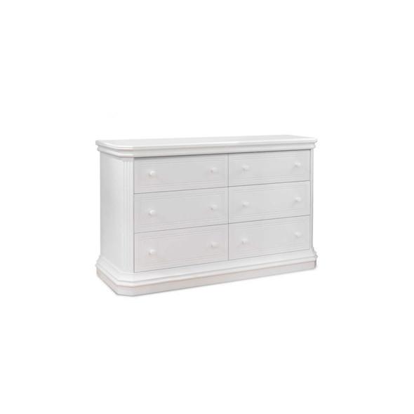 Sorelle Primo Double Dresser RTA in White