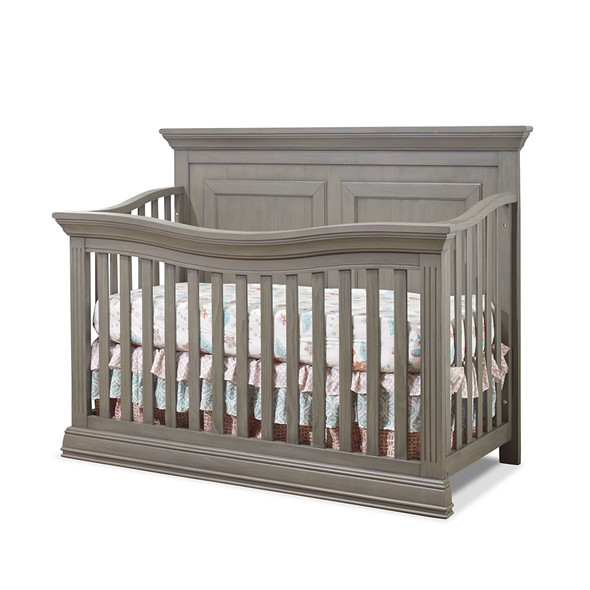 Sorelle Paxton Convertible Crib in Heritage Gray