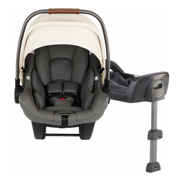 Nuna Pipa Lite LX Infant Car Seat with Base in Birch
