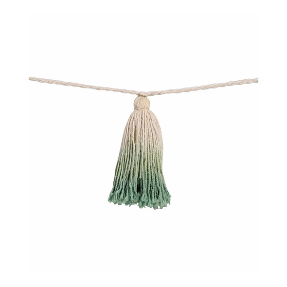 Lorena Canals Pom Pom Garland Tie-Dye Green