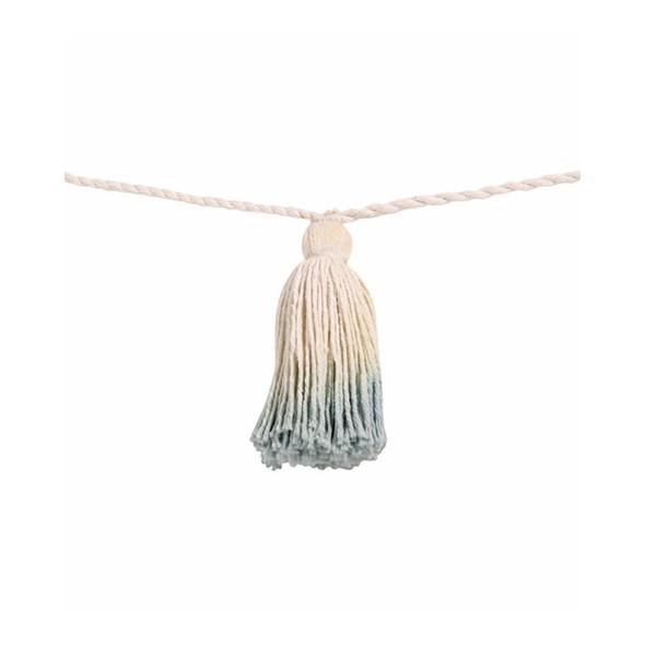 Lorena Canals Pom Pom Garland Tie-Dye Vintag