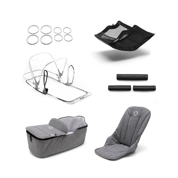 Bugaboo Fox Style Set in Grey Melange