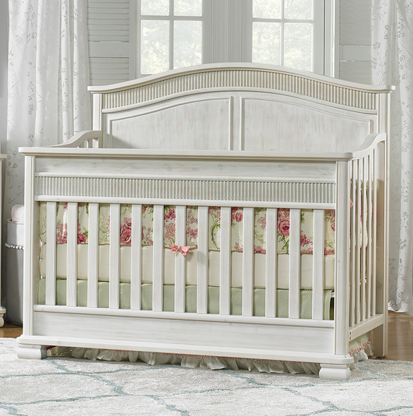 Dolce Babi Florenza Full Panel Conv Crib in Sugar Cane