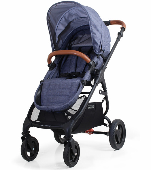 Valco Snap Ultra Trend Reversible Seat Stroller in Denim