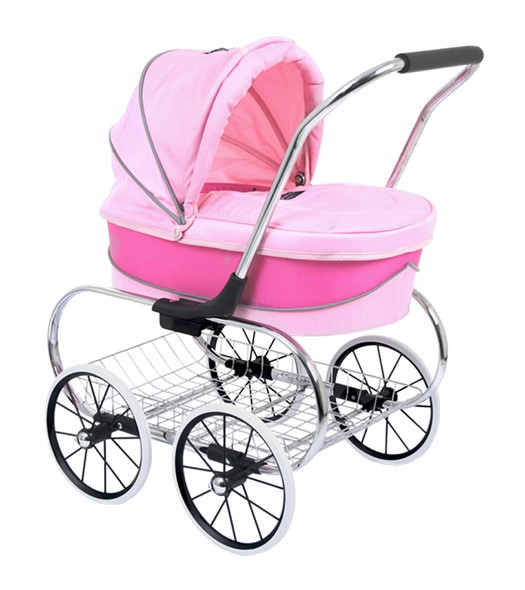 Valco Princess Doll Stroller in Pink