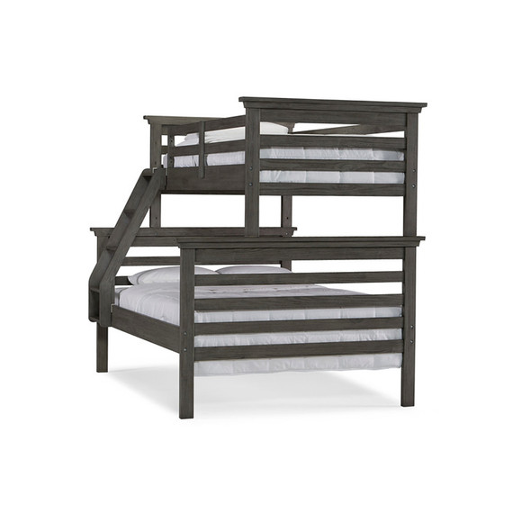 Dolce Babi Lucca TWIN/FULL BUNK BED in Weathered Grey