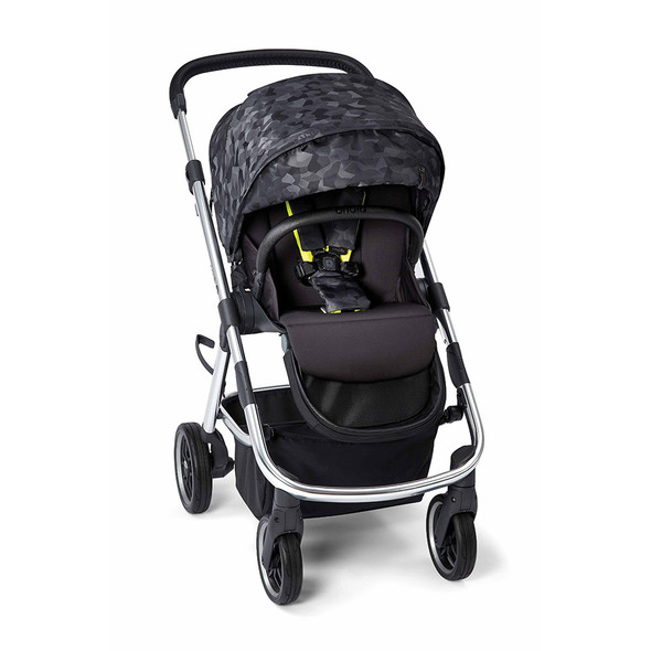 Diono Excurze 2019 Mid Size Stroller in Black Camo