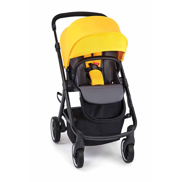 Diono Excurze 2019 Mid Size Stroller in Yellow Sulphur