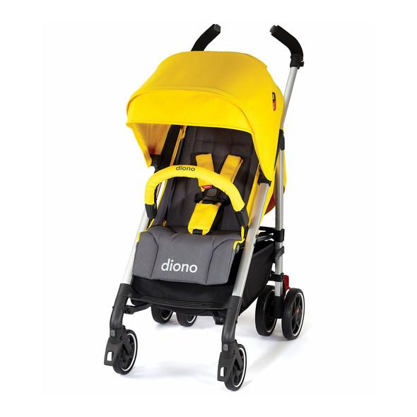 Diono Flexa 2019 Compact Stroller in Yellow Sulphur