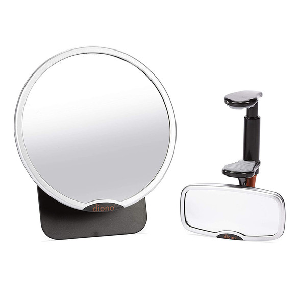 Diono Mirror - Easy View and See Me Too 2019 In the Car in Silver