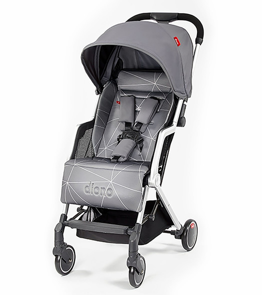 Diono Traverze Compact Stroller in Grey Linear